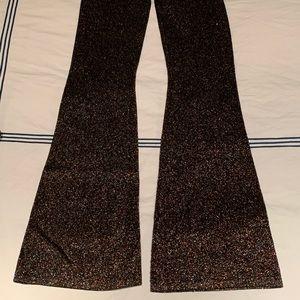 Sandro Knit Lurex pants